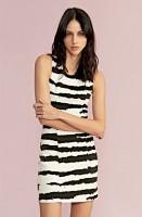 Imagem - Vestido Feminino Ellus Second Floor Jacquard Tiger Sleev Less 19sn308  - 051846
