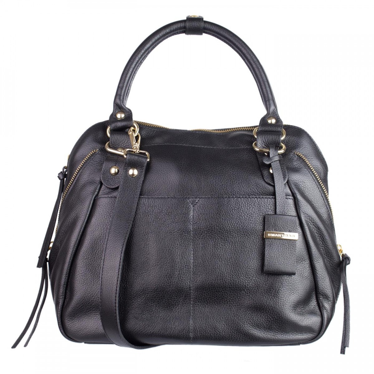 Bolsa Feminina Casual : Bizz store bolsa feminina smartbag casual couro