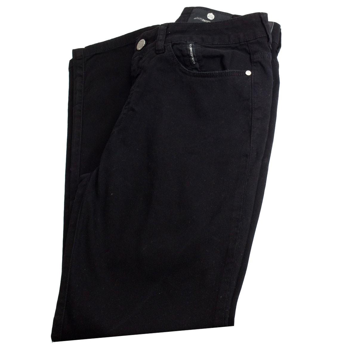 Calça Jeans Ellus Second Floor Soft Color Gisele 20sa437 Preto