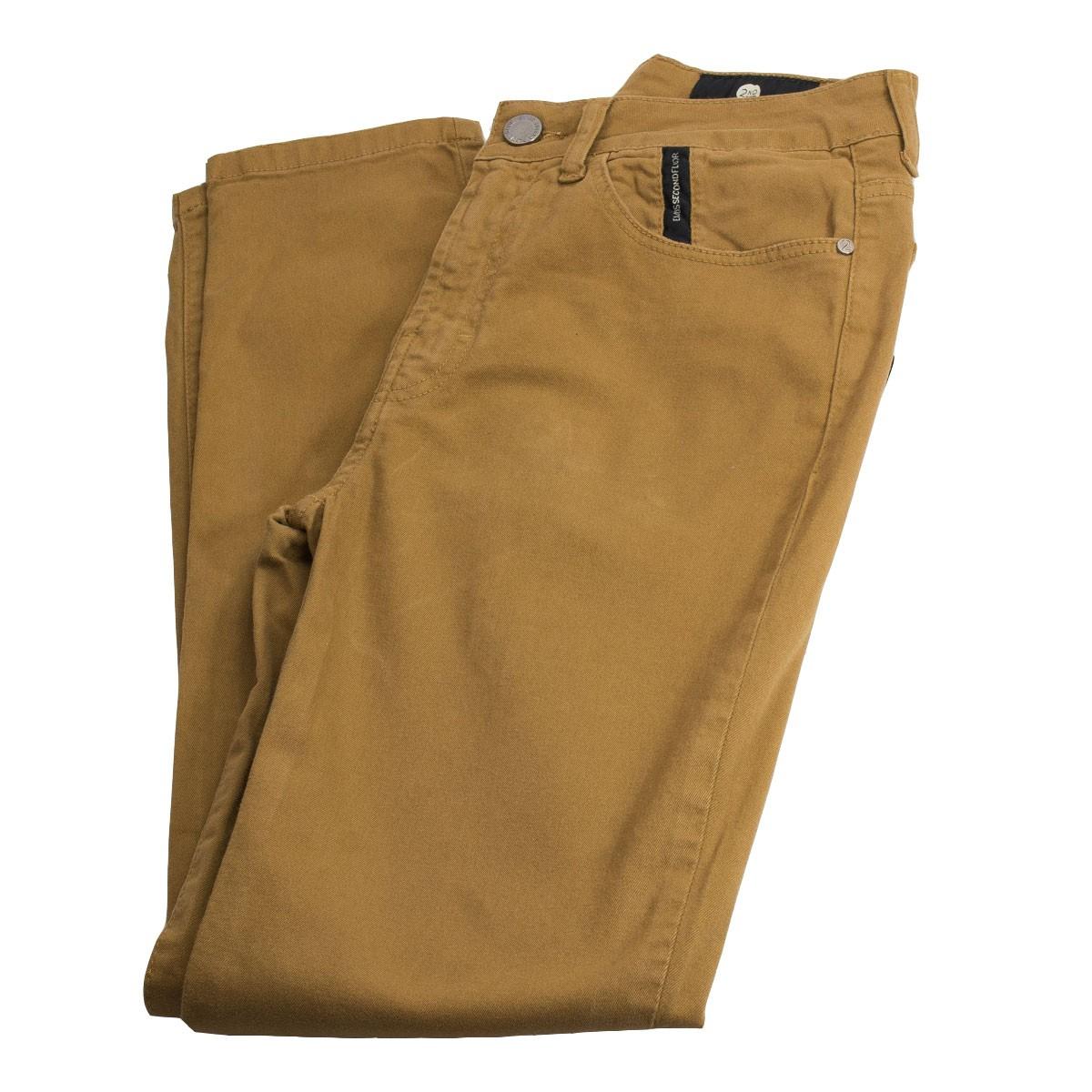 Calça Jeans Ellus Second Floor Soft Color Gisele 20sa437 Camel