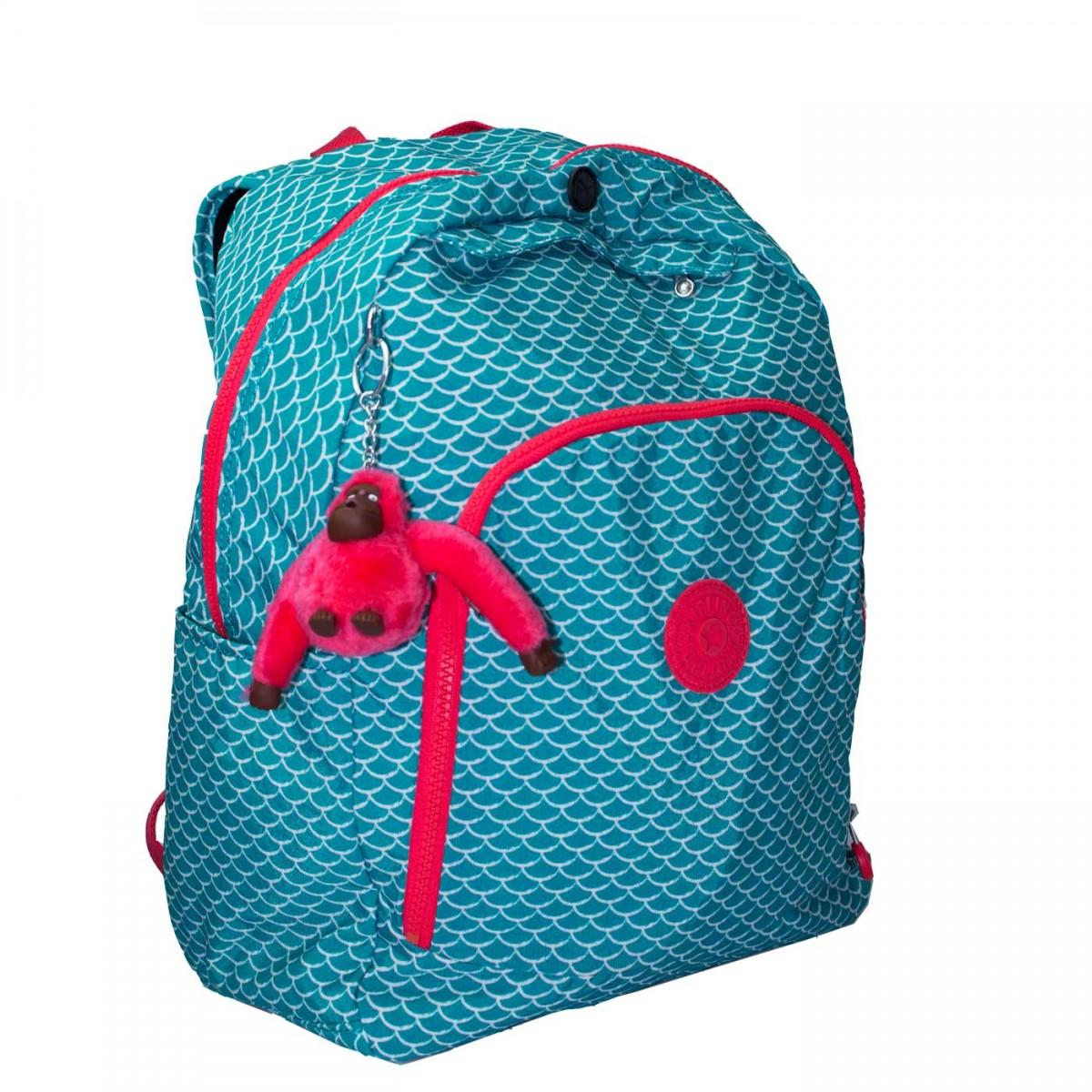 Bizz Store Mochila Feminina Kipling Carmine Grande Pink a73d99fd67b56