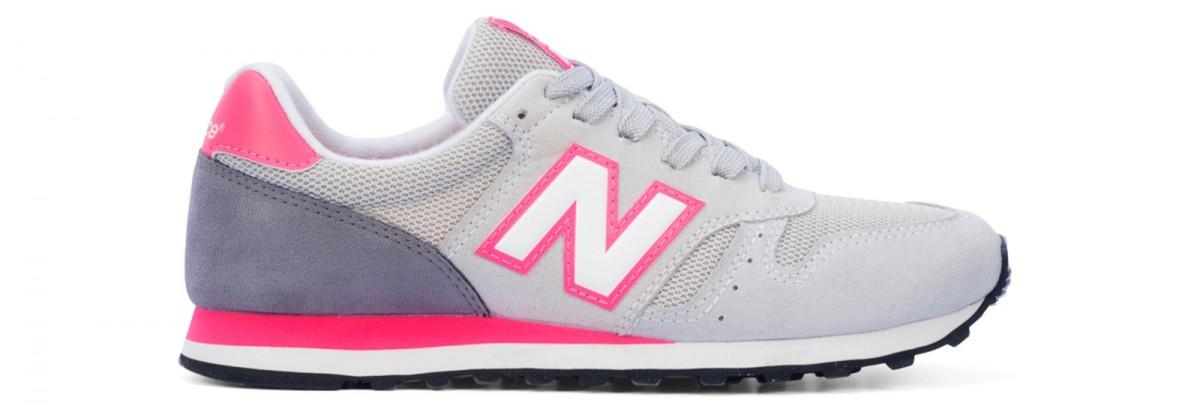 Tênis Feminino New Balance 373 Retrô Running Cinza
