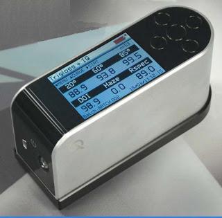 goniofotometro para medição de intensidade luminosa