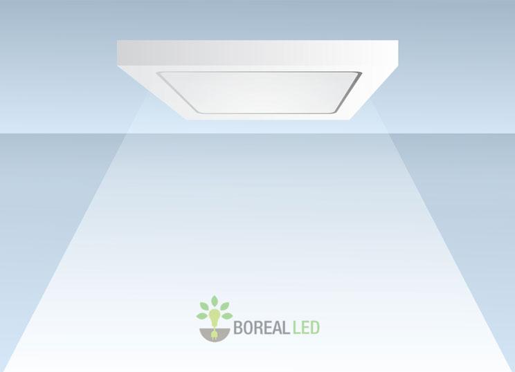 Como instalar luminária de sobrepor LED em Teto Parede Manual de Instalaç u00e3o