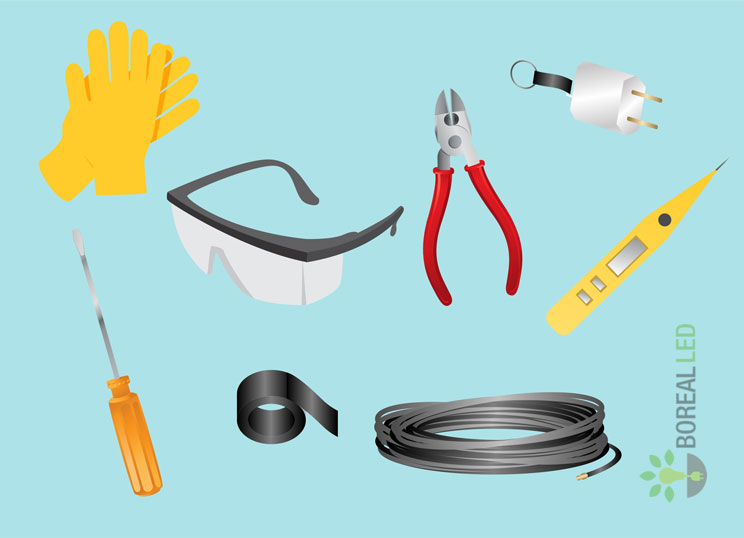 ventilador de teto ferramentas de instalação