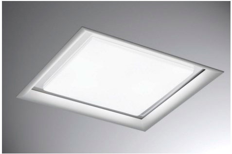 luminaria de teto embutir led