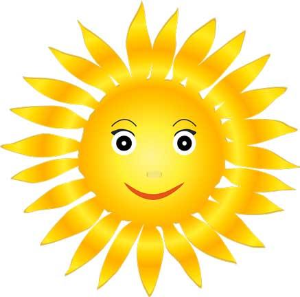 sol fonte de luz natural