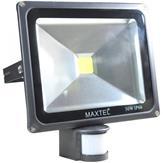 Refletor LED 30W Sensor de Presença IP66 R30W Bivolt Branco Frio Maxtel