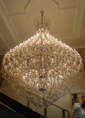 Imagem - LUSTRE GRANDE DE CRISTAIS COM 330 LAMPADAS