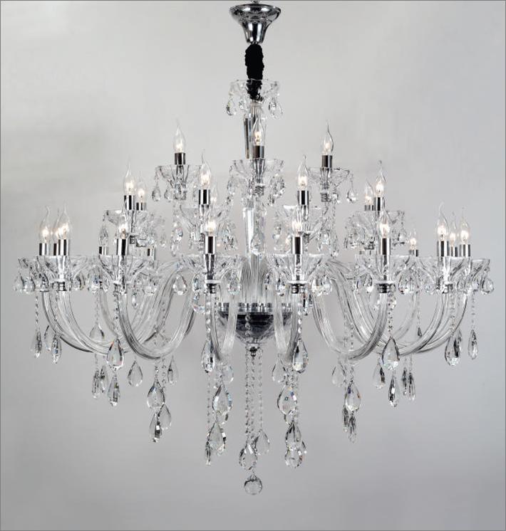 lustre de cristal 28 bra os 130cmxh150cm bl9800 28. Black Bedroom Furniture Sets. Home Design Ideas
