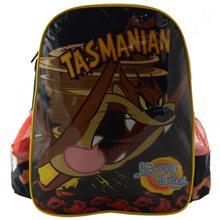 Imagem - Mochila Looney Tunes Tasmanian G - preta/vermelha