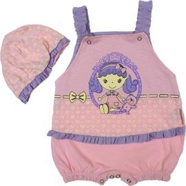 Macacão Curto de Bebê Sweet Berry 2903