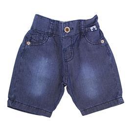Bermuda Jeans Beb� Menino - C�d. 7754