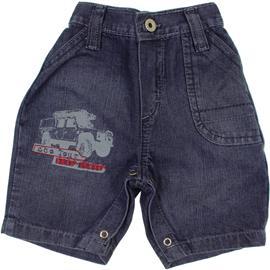 Bermuda Jeans para Bebe - Menino - Din Don - cod. 6753