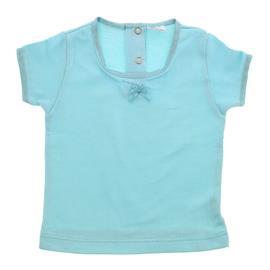 Blusa de Beb� Canelada Lacinho - 9076