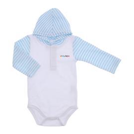 Body Bebê com Capuz Atoalhado Lapuko