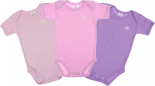 Body Infantil Kit com 3 Menina Best Club 5876