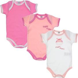 Body de Bebê Kit de 3 Bodys Happy 5903