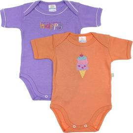 Body de Bebe - Kit com 2 Best Club - cod. 6644