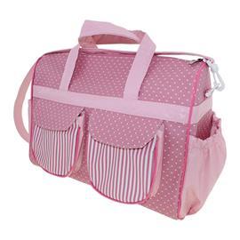 Bolsa de Beb� Estrelinhas Rosa 9768