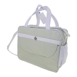 Bolsa de Beb� Pequena Listras Verde 9780