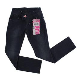 Calça Jeans Infantil Bordada