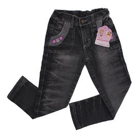 Calça Jeans Infantil - Clube for Girls - cod.5684