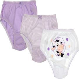 Calcinha Infantil Kit com 3 Peças 6594