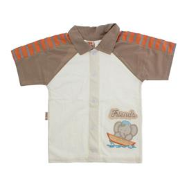 Camisa Infantil Menino Bordado Friends