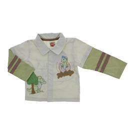 Camisa para Beb� Manga Longa Dinossauro - 8980