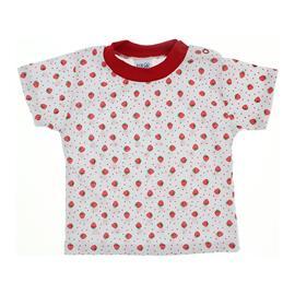 Camiseta Beb� B�sica em Malha Estampada - 9908