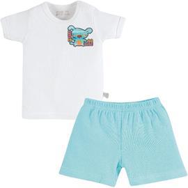 Conjunto de Bebê Camiseta e Shorts Zig Mundi 7160