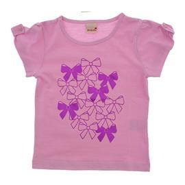 Camiseta Infantil Manga Curta Lacinhos 8751