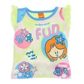 Camiseta de Bebê Menina Marisol 8012