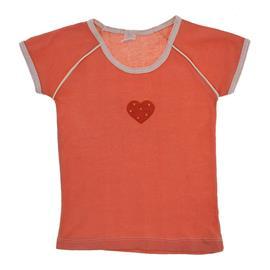 Camiseta Infantil Menina Coração Xadrez - 9722