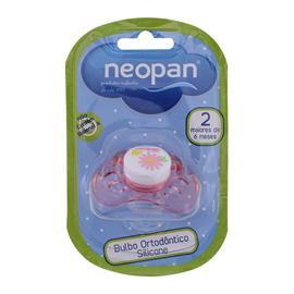 Chupeta de Bebê em Silicone Neopan Rosa 2033