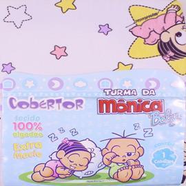 Cobertor de Bebê Turma da Mônica Meninas 6444
