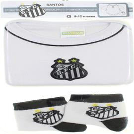 Body de Bebê Time do Santos 6406