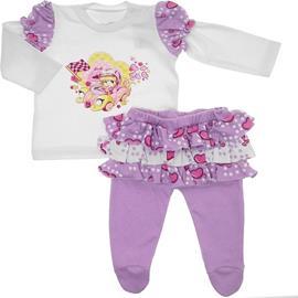 Conjunto de Bebê - Calça e Camiseta Penélope Charmosa 5747