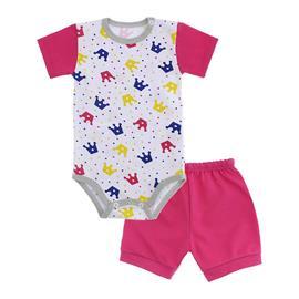 Conjunto de Body e Short para Bebê