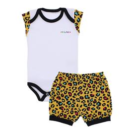 Conjunto de Body e Shorts para Menina Lapuko