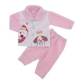 Conjunto de Inverno para Beb� em Soft Boom Rosa - 9034
