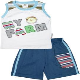 Conjunto Infantil para Menino Regata Farm - Cod. 4839