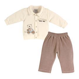 Conjunto Infantil de Plush Masculino Zigmundi - Cod. 7273