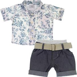 Super Oferta de Kit com Bermuda e Camisa 7013