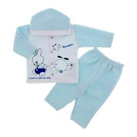Conjunto de Soft para Beb� Menino Azul 9038