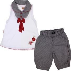Conjunto de Beb� Regata e Shorts Menina 5247