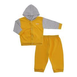 Conjunto para Bebê em Suedine Lapuko