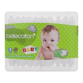 Cotonetes para Beb� Bellacotton 50 un - 9743