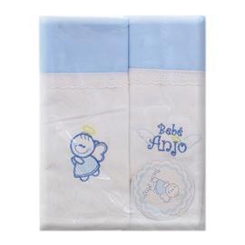 Cueiro Bebê Anjo 2 Peças